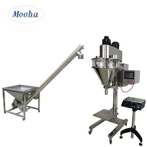 Semi Automatic Powder Weighing and Filling Machine,Auger Filling Machine(can custom made SS316)