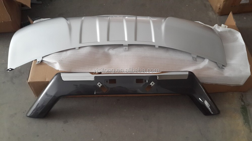 OEM ABS plastic front and rear skid plate for Nissan 2014 X-Trail skid plate
