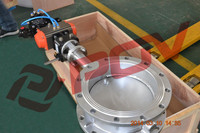 wafer Air conditioning pneumatic actuators Butterfly Valve