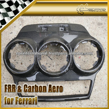 For Ferrari F430 Carbon Fiber Center Air Condition Replacement LHD