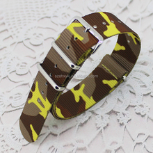 16mm18mm20mm22mm24mm High Quality Camo Nylon Fabric Nato Watch Strap Watch Band