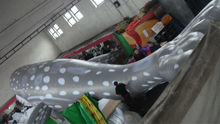 attractive advertising inflatable whale
