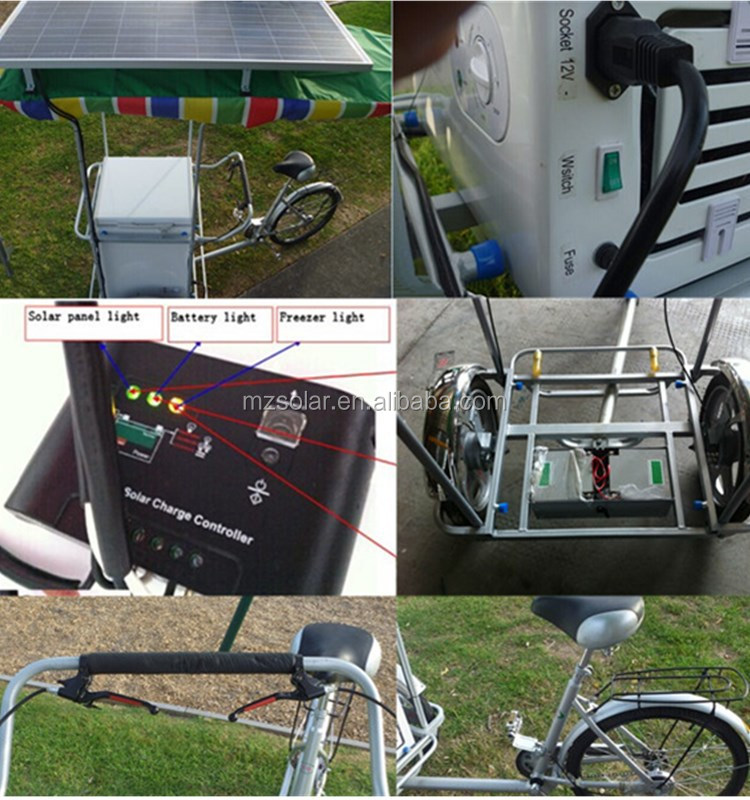 2017 new electric tricycle,portable freezer 12V, electric freezer tricycle