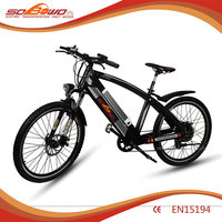 electric pedal assisted bicycle for man for sale