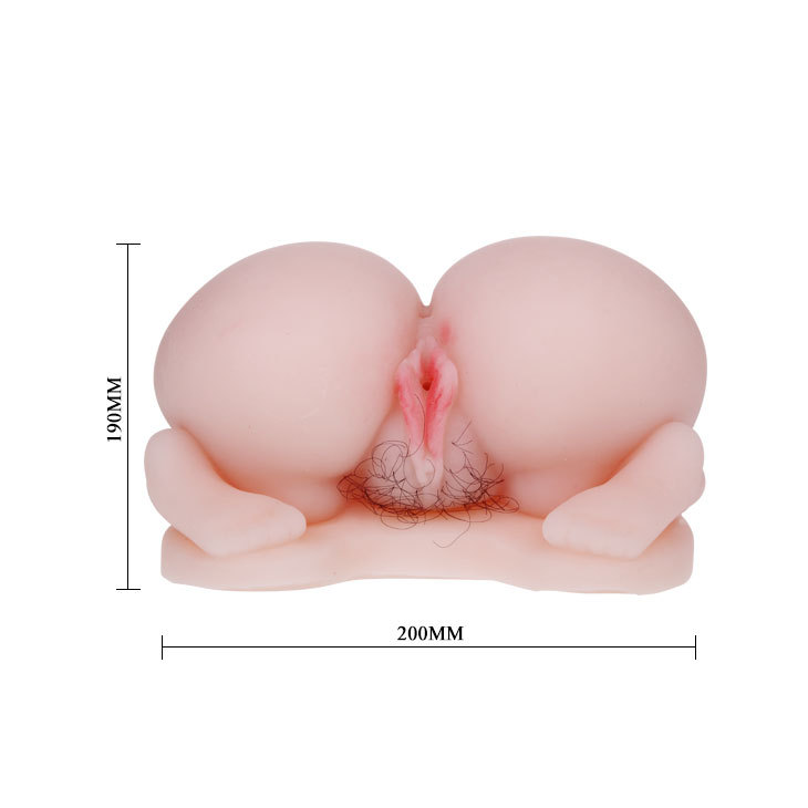 sex toy new product Pussy & Ass, TPR material, double vibrating eggs with voice