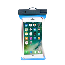 Universal TPU Swimming waterproof phone case bag for iphone 7s 8 Armband water proof case pouch for all mobile phone