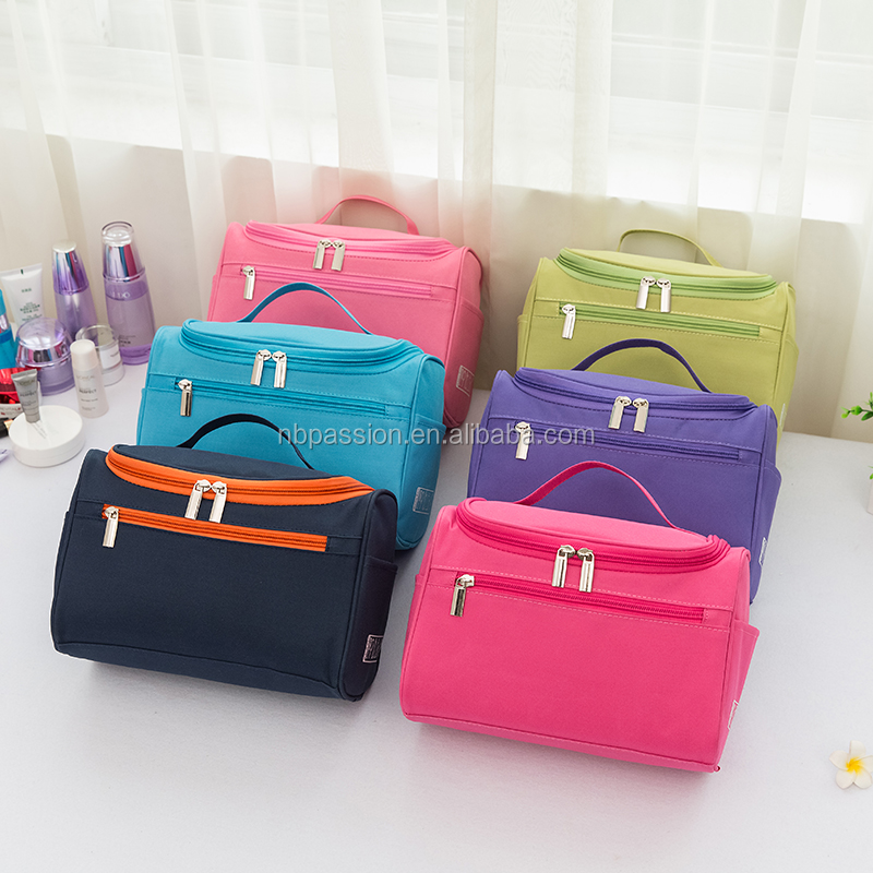 Hot selling round travel wash bag/toilet bag/storage bag