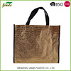 Modern techniques new design reusable grocery pp woven shopping bag