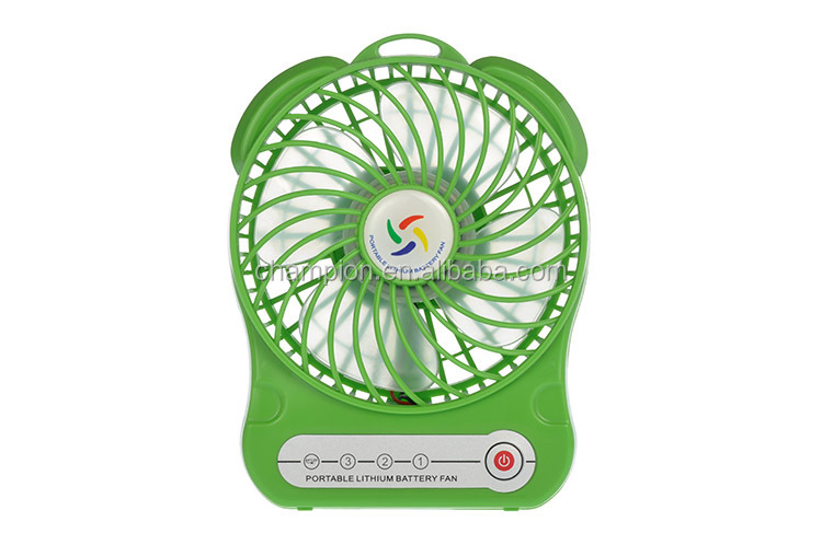 5v Battery Powered solar rechargeable standing fan with low price