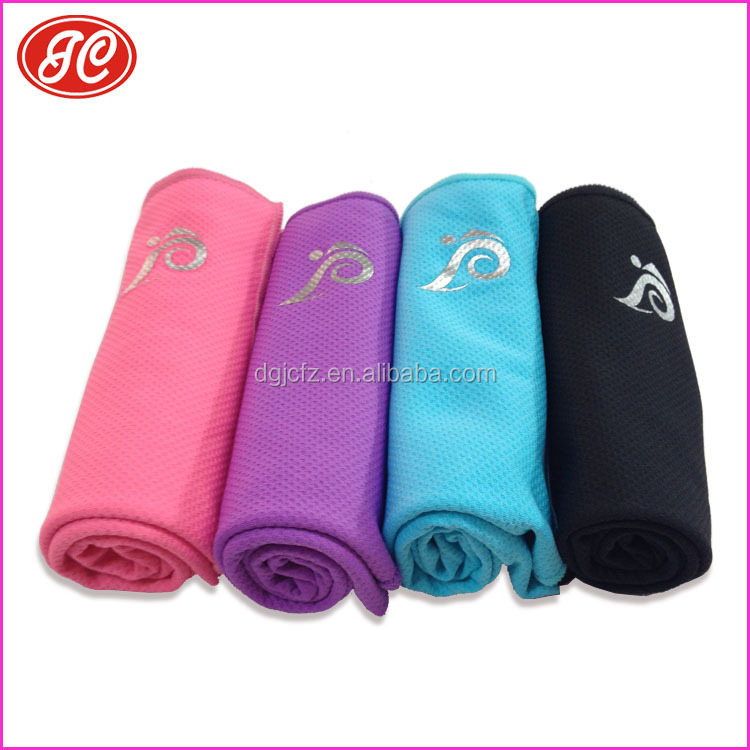 Hot selling Korean popular quick drying cool ice towel magic cold summer sports towel