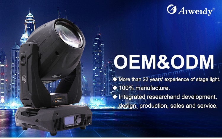 Factory manufacturer 3 in 1 A-2470BS strong heat dissipation 440w 20r moving head