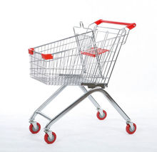80 Liters Europe supermarket shopping trolley cart