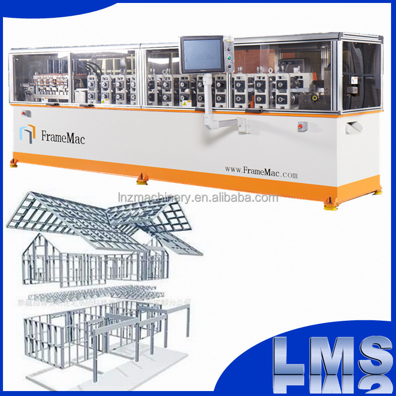 light gauge steel frame roll forming frame cad machine