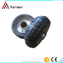 High quality High Performance Strong 6X2 pu / rubber foam tire