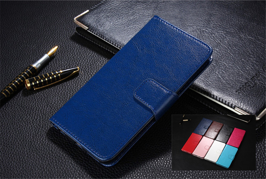 PU Leather Cases Wallet Cases For Lenovo A8 Play Flip Cover Holder Card Slot Stand Phone Cover