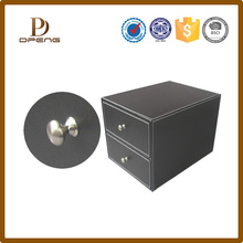 Wholesale leather office set with drawer,commode office set for business