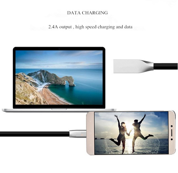 New design for iPhone5/6/6s and Android Type-C data charger usb cable