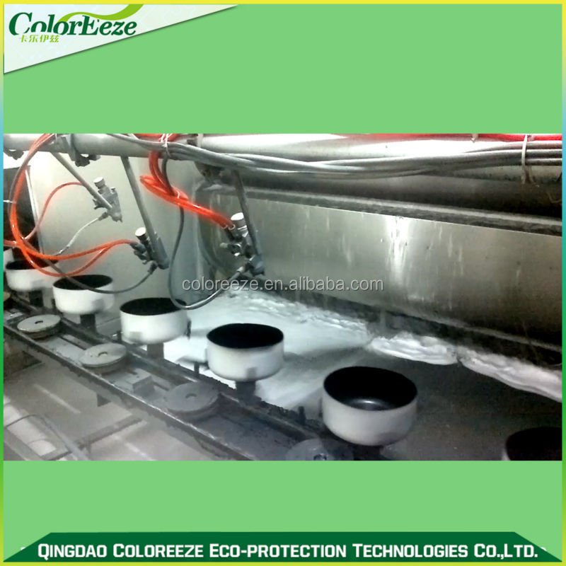 Fry Pan Coating Production Line/Teflon Spray Coating Line ...