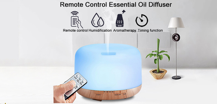 factory supply ultrasonic air humidifier aromatherapy essential oil remote control aroma diffuser