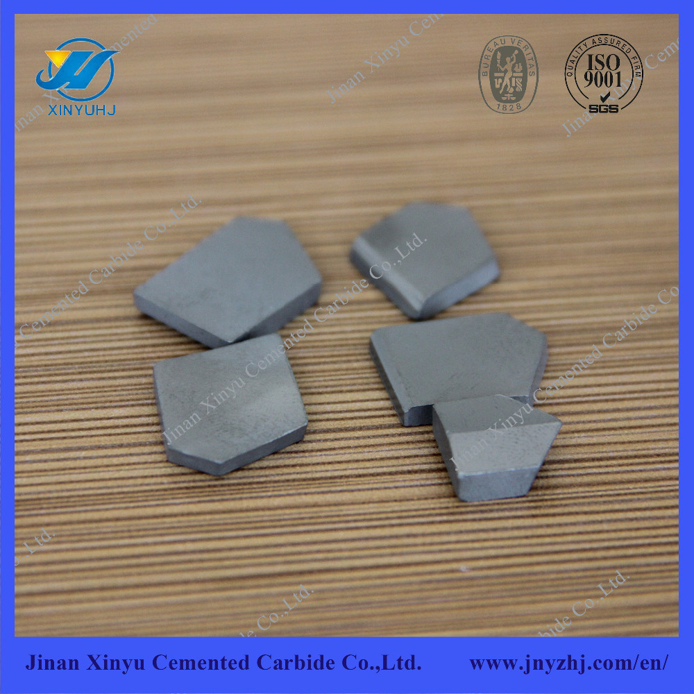 Cemented carbide cutting inserts