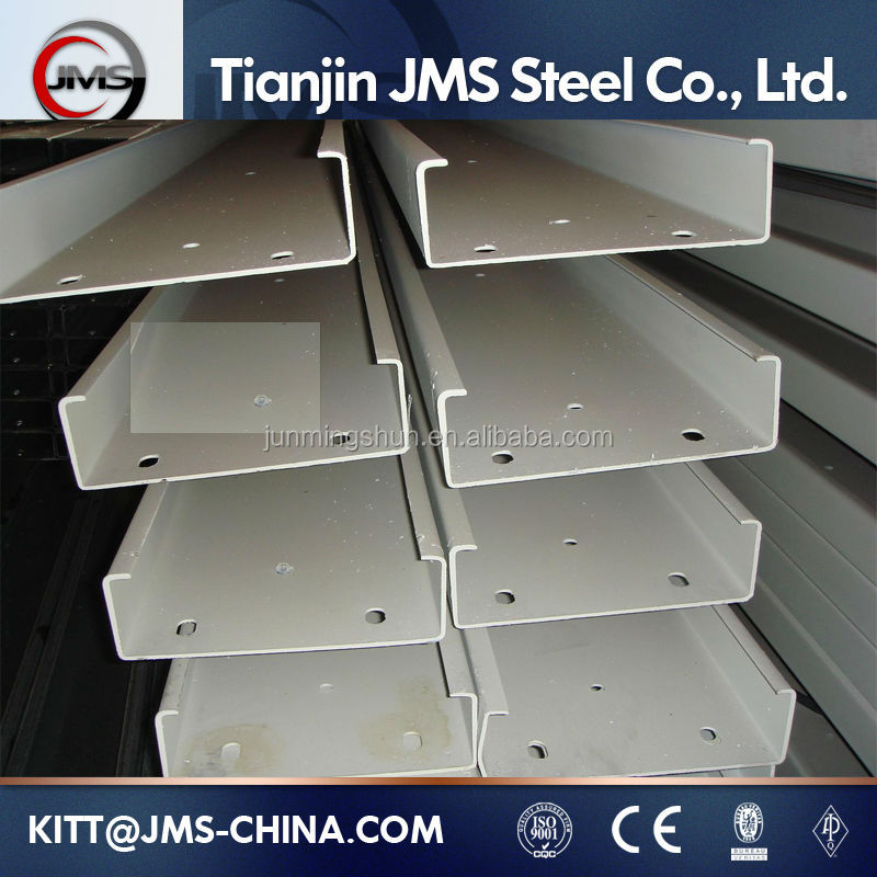 U Channel beams for Structure Steel JIS G3101 ss40