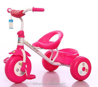 Hot sale foot power car children tricycle toy with plastic wheel for best quality and low price