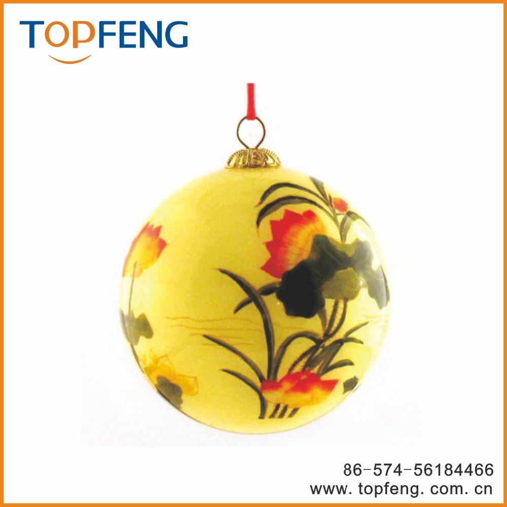 Beauty glass christmas painting ball ornament