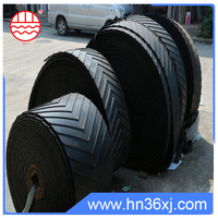 SANLIU factory OEM/ ODM rubber fabric endless chevron conveyor belt