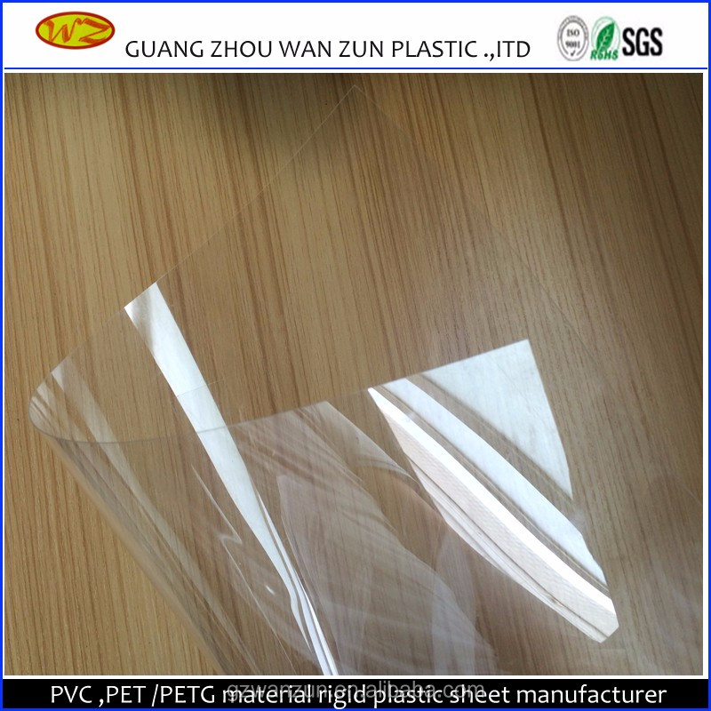 clear hard plastic pvc sheets covers