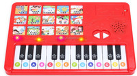custom sing song piano keyboard sound module music instrument for kids sound book
