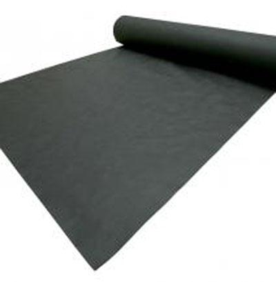 Garden weed barrier control fabric