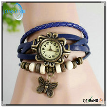 Wholesale colorful vintage watch quartz movement branded watches distributors