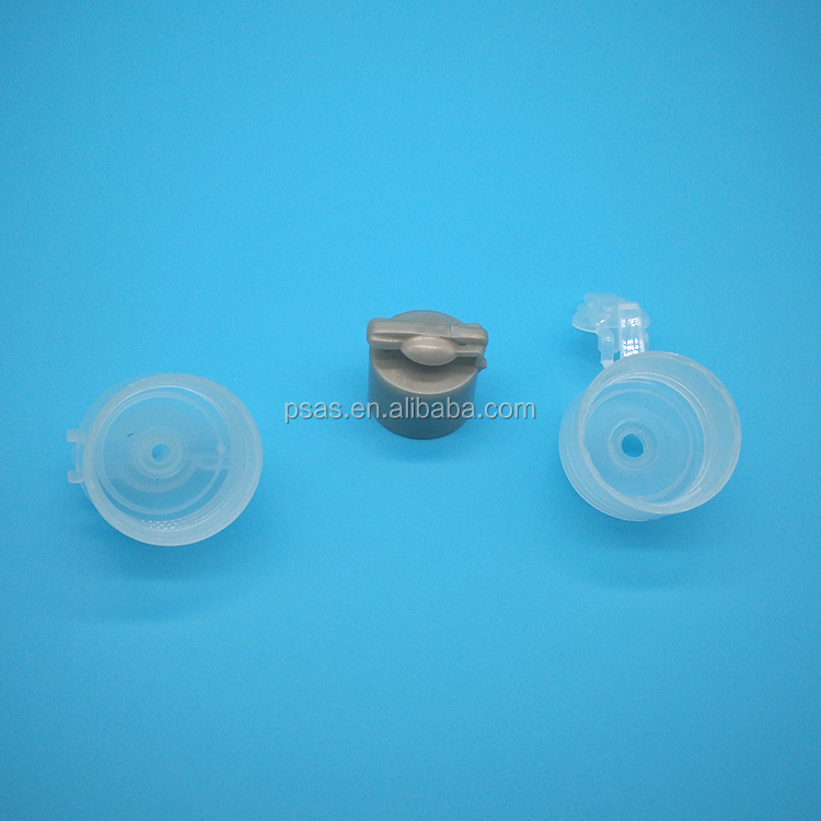 Easy open PP plastic screw type bottle cap plastic cover for plastic bottle use