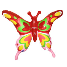 colorful and beauty animal toy inflatable butterfly toy