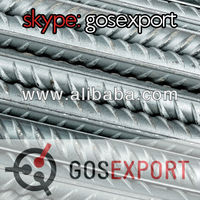 Steel rebars from manufacturer