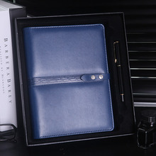New Arrival A4 A5 Custom Leather Planner Ring Binder Notebook