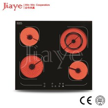 4 zone perfection stove parts Europe design ceramic hob JY-CD4008