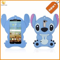 china suppliers 3d cartoon silicone celular case for LG K7