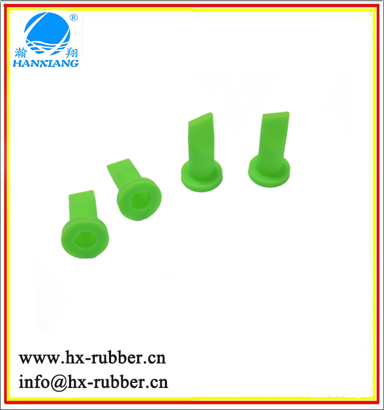 Customed silicone one way valve/rubber duckbill check valve OEM