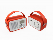inovation new ideas retro bluetooth speakers made in China with remote control