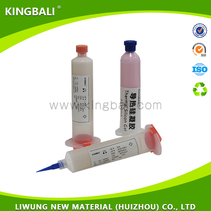 Factory direct insulation resistance high double component thermal silicone gel automotive electronic components necessary