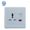 13A 1 Gang Multi function Wall socket