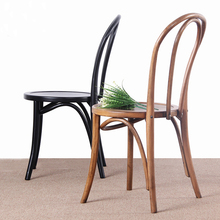 China Factory Solid Wood Home Furniture Rest Restaurant Dining Room Hotel Banquet Wooden Chair