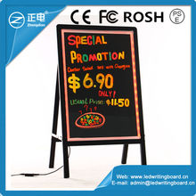 Wholesale alibaba factory price stand independently aluminium frame indoor multi use high definition handwriting advertise led d