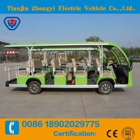 14 Seater Electric Sightseeing Bus With