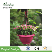 cheap small hanging plastic flower pots