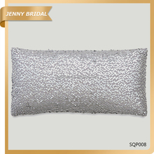 SQP008 Custom sofa rectangle sequin fancy pillow case