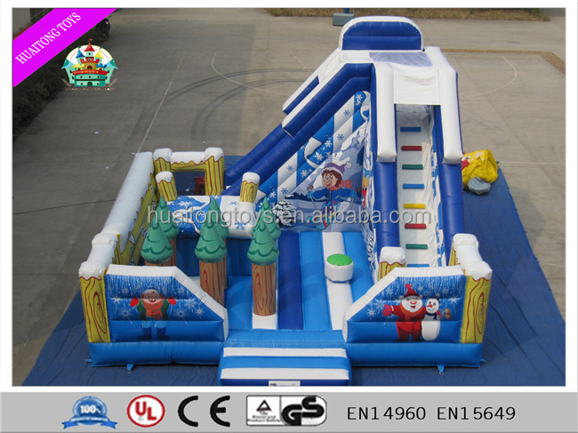 Shanghai Huaitong Inflatable Christmas Slide
