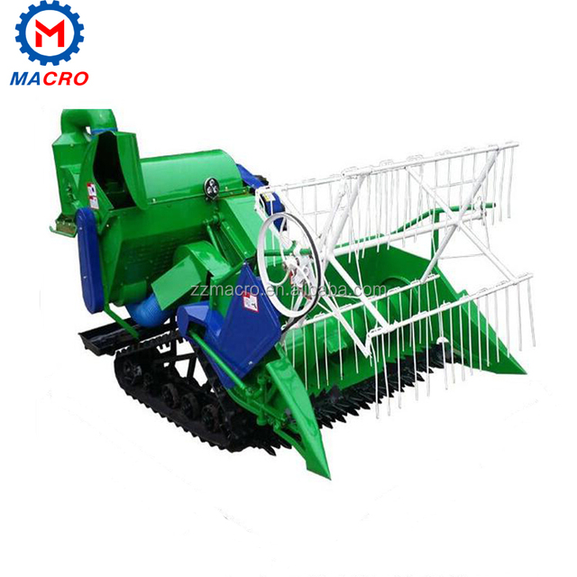 Agriculture Machinery Combine Harvesting Factory Rice Harvesting