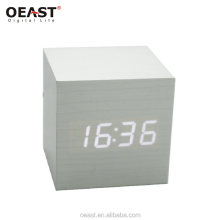 Wooden home decor led digital clock